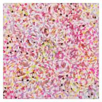 600pcs/bag creative noctilucent leopard print colorful children bracelet rubber loom bands