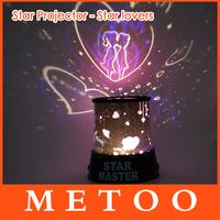Dreamlike Colorful Star Master Night Light Novelty Amazing LED Sky Star Master Table Light Projector Desk baby lamps