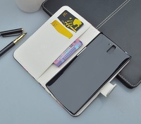 Print pattern wallet leather  Case for OnePlus One phone with card holder and stand fuction cover for OnePlus One bag
