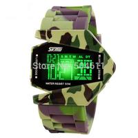 Free shipping SKMEI Unisex Sports Digital Backlight LED Wrist Watch w Rubber Band & Alarm & Calendar & Stopwatch