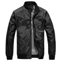 2014 Autum Casual Man Jacket Slim Thin Fashion Outerwear Men Coat Men's Watertight Packable Rain Jacket Plus SizeM L XL XXL XXXL