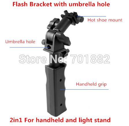 Аксессуары для фотостудий OEM LED Handheld flash Grip