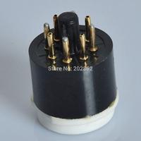 2PCS Tube Adapters 8pin to 4pin Ceramic Gold Socket
