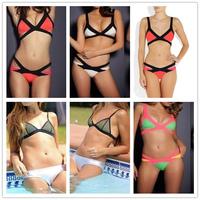 BK130 Women Bikini 2014 Sexy Swimwear Bandage Style Sexy Swimsuit Ladies Girl Hot Sale Free Shipping Push Up Bikinis Set