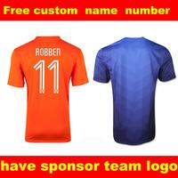 Free custom soccer jerseys football shirt  2014 new football shrit top thailand quality soccer uniform