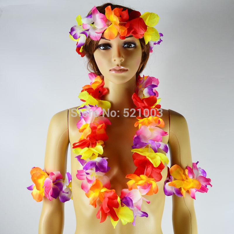 набор для маникюра brand new 5pcs hh0720 Искусственные цветы для дома Brand New & 5pcs Hawaii