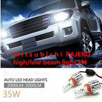 M i t s u b i s h i  PAJERO  high/low beam light H4 modification dedicated  headlamp headlight bulb LED