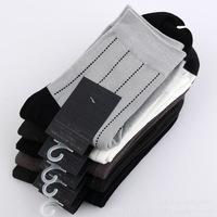 2014 Bestseller Bamboo Fiber Stink Prevention Spring&Autumn Men's socks Soft 5 pairs/lot