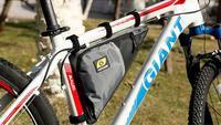 bicycle triangle kit bag riding saddle bag bike frame bag