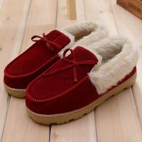 2014 New Winter Slippers Solid padded slippers soft women & men unisex Indoor slippers,SJ056