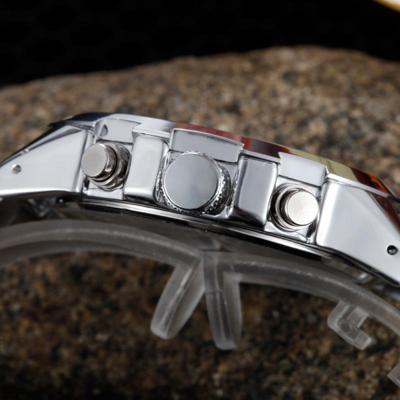 New CURREN Brand Men Military Watch Fashion Men Quartz Adjustable men Sports Wrist Watches Full Steel