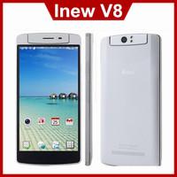 Original Inew V8 MTK6591 Mobile Phone Hexa Core Android 4.4 5.5 Inch 18.0MP Free Rotation Camera 1280X720 2GB RAM 16GB ROM WCDMA