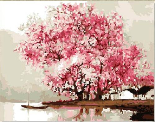 Картина DIY  oil painting DIY 16 x 20 YT-P-0396-A
