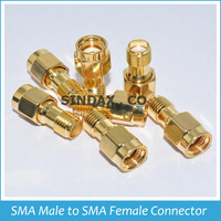 Promotion Sale!!! 1PC Freeshipping RF Coxial Connectors RF SMA Connector Adapter RP-SMA Male to SMA Female Connectors
