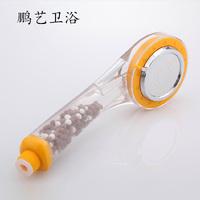 Blow-fed shower nozzle negative ion spa shower head pressure handheld
