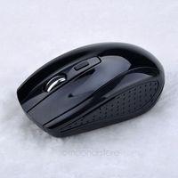 2.4GHz USB Optical Wireless Mouse USB Receiver Mice Cordless Game Computer PC Laptop Desktop Free Shipping XMHM365