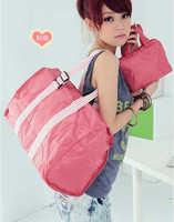 Wholesales !2014 Unisex Travel Bag large capacity Foldable , graceful Waterproof Nylon Handbag storage Bag/Sports Bag mb70