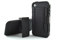 Heavy Duty 4s Stand Case Cover For iphone 4 4s Phone Cover Case Armour phone cover case for iphone 4g
