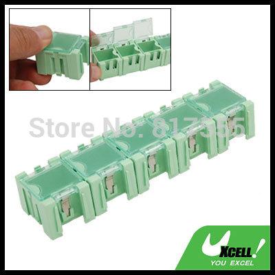 Plastic Component Storage Electronic Parts Boxes Green electronic components storage box Discount 50(China (Mainland))