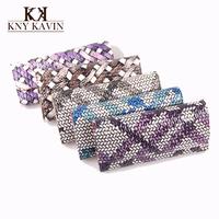 Новая мода бриллиант короны сцепление кошелек женщин кошельки женщин роскошь кошелек длинный дизайн монет кошелек леди бумажник