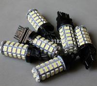 Free shipping LED 3528 1210  68 SMD car   turn brake signal  light 1156 1157 3157 3156  ba15s bulb