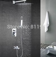 10 inch High quality brass Bath & Shower Faucets mixers taps chuveiro with down water jets torneira cuba banheiro ducha