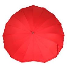versandkostenfrei 2014 mode heißer verkauf hochzeit regenschirm sonnenschirm rot braut Dusche regenschirm(China (Mainland))