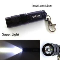 New 3W 300 Lumens Super Light Mini CREE XPE LED Flashlight 3 Mode 1*AA Battery for portable Daily life