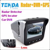 New arrived ! Car DVR 720P 2 inch Screen Radar Detector Russian Voice with laser  BIGI mainboard+GPS locator +GPS Logger