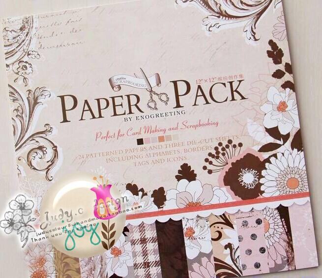 cheap scrapbook paper packs