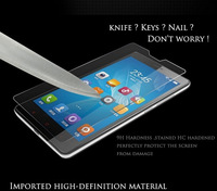 "2pcs 2.5d 0.33mm Tempered glass screen protector for XIAOMI 4 phone M4 MI4 M 4 LCD 5.0"" HD clear film ultra  free shipping"