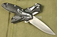 Free shipping OEM Kershaw small fish Folding Knife 8Cr13MOV Blade hunting knives survival tool camping knife pocket tools