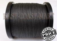 100% PE 4 strands Dyneema Spectra Extreme Braid Fishing Line 1000M 1094 YARD Black 60LB 0.40mm