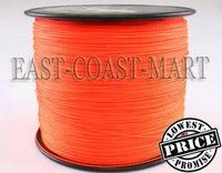Dyneema PE Braided Fishing Line Orange 1000M 8LB 0.10mm 1094 Yard Spectra fishing line # 0.4