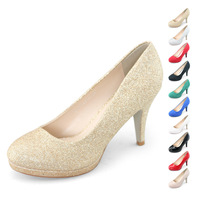 SHOEZY 2014 new womens glitter silver gold pumps shoes woman autumn bridal dress wedding shoes sparkly bling party high heels