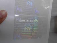 PA Hologram overlay