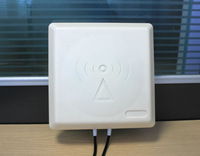 New 4G outdoor antenna 2x2 Mimo 4G External Panel Antenna,1800-2600MHz Broadband Omni Panel 4G LTE with 2*5m cable