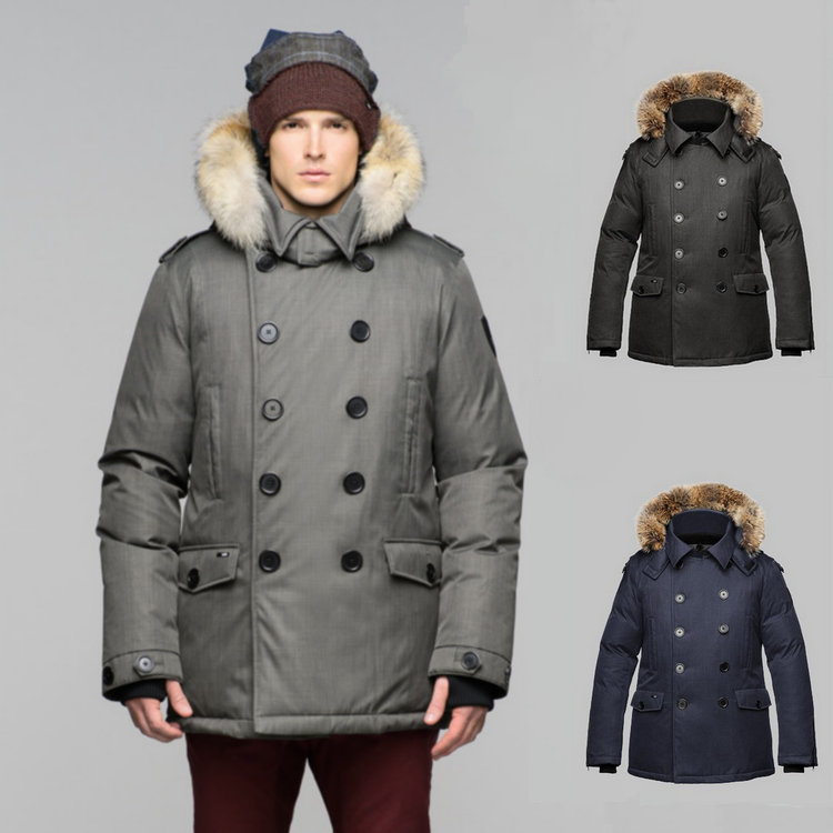 [ Exclusive Shop ] Winter 2015 Polar Clothing Canada Men Down Jacket Fashion Duck Male Parka Fur Cap Kato Men's Clothes(China (Mainland))