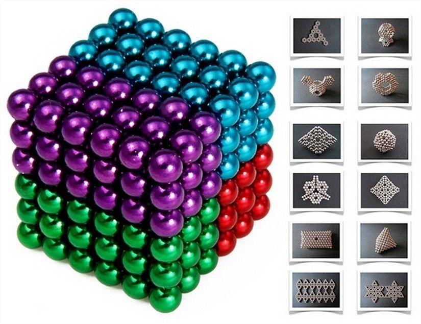 новые бакиболлс магнитные мяч куб 125