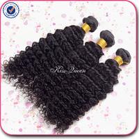 Big Sale 6A grade Peruvian Deep Wave Curly Virgin Hair Weave 3pcs 8-30 inch natural black hair Peruvian Virgin Hair Can be dyed