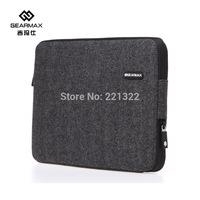2015 New Arrial Laptop Case For Macbook Shockproof Laptop Bag14+Free Keyboard Cover Soft Felt Laptop Sleeve For Macbook 11 13 15