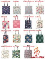 2014 new cath women's clutches handbag shoulder bags shopping book bag cotton vintage designer high quality of famous brand logo