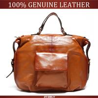 NEW 2014 women handbag natural Genuine Leather Bags women messenger bag vintage handbags Shoulder Bags bolsa bolsas