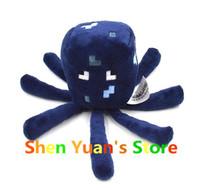New Minecraft Devilfish Octopus Creeper 16cm Plush Dolls Stuffed Plush Creeper Plush Toys my world Gift brinquedos