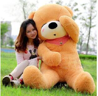 100CM Teddy Bear Lovers Big bear Arms Stuffed Animals Toys Plush Doll/lovers/christmas gifts birthday gift(China (Mainland))