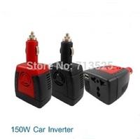 150W 12V DC to 220V AC car power inverter USB converter charger laptop adapter