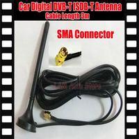Car  ISDB-T DVB-T tv antenna Mobile Car Digital DVB-T ISDB-T Aerial Antenna Car Digital TV Antenna Free shipping!!!
