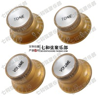 Free shipping A set of 4 Pcs Gold Speed Control Knobs for Electric Guitar (2 Volume & 2 Tone)  LPN-GD-2T2V