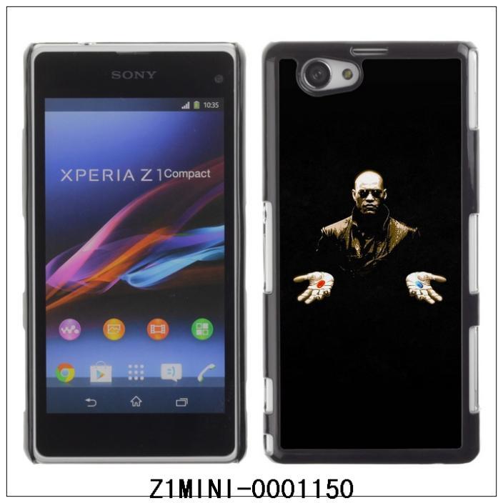 Morpheus Matrix Red Or Blue-FOR SONY Xperia Z1 mini Plastic Hard Back Case Cover Shell (Z1MINI-0001150)(China (Mainland))