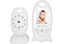 New Best-selling 2.0inch baby monitor baba eletronic video babysitter Music/Nightvision/IR LED/ Temperature Monitor/ 8 Lullabies